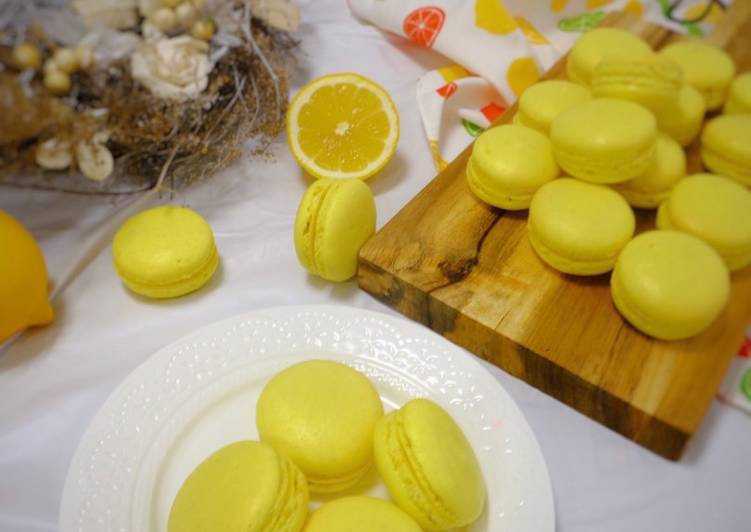 Resep Lemon Macaron
