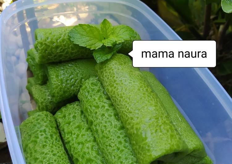 Resep Kue dadar gulung unti putih