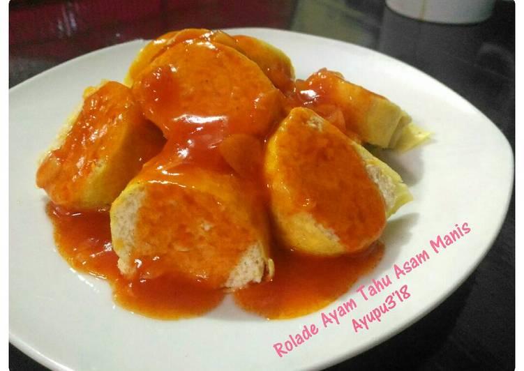 Resep Rolade Ayam Tahu