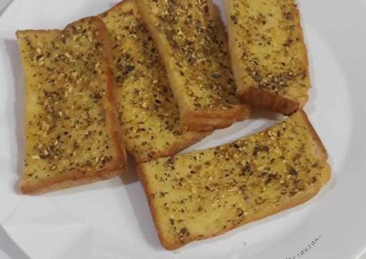 Resep Garlic bread / roti bawang putih