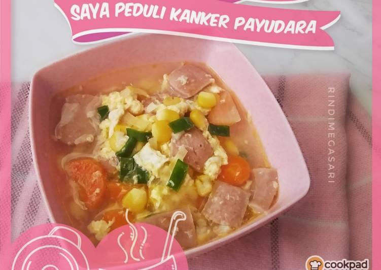 Resep Sup Jagung Wortel Sosis