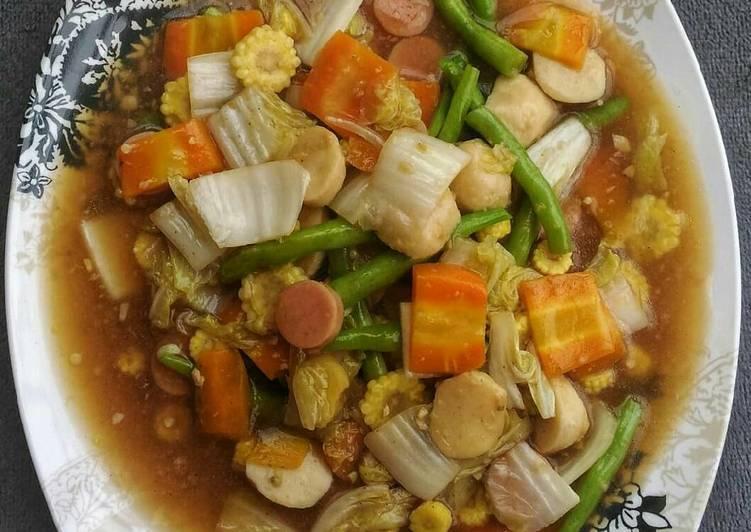 Resep Cah sayuran