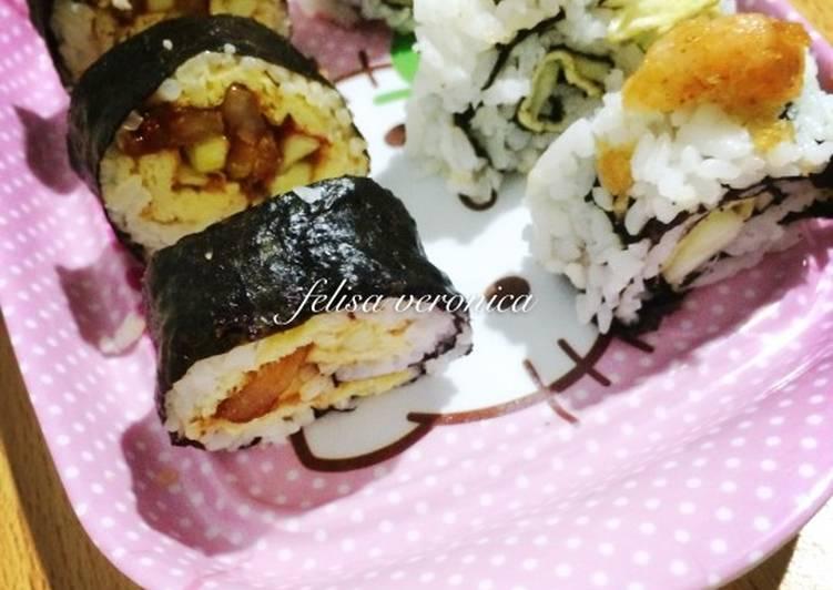 Resep Sushi ala rumahan