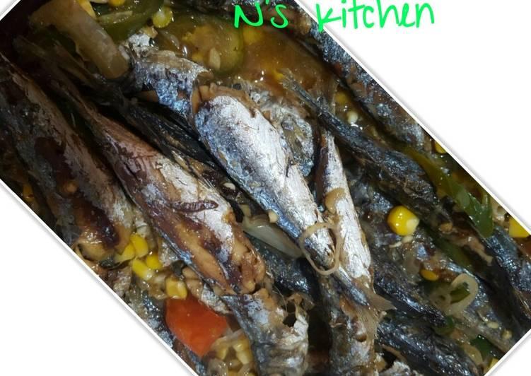 Resep Tumis ikan cue