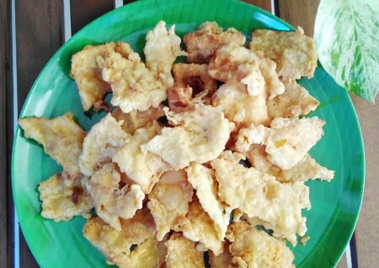 Resep Telur dadar crispy