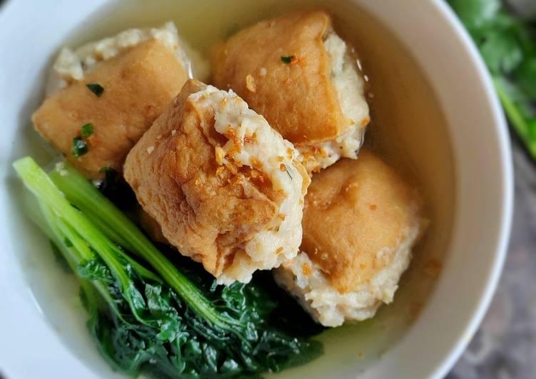 Resep Bakso Ayam Tahu