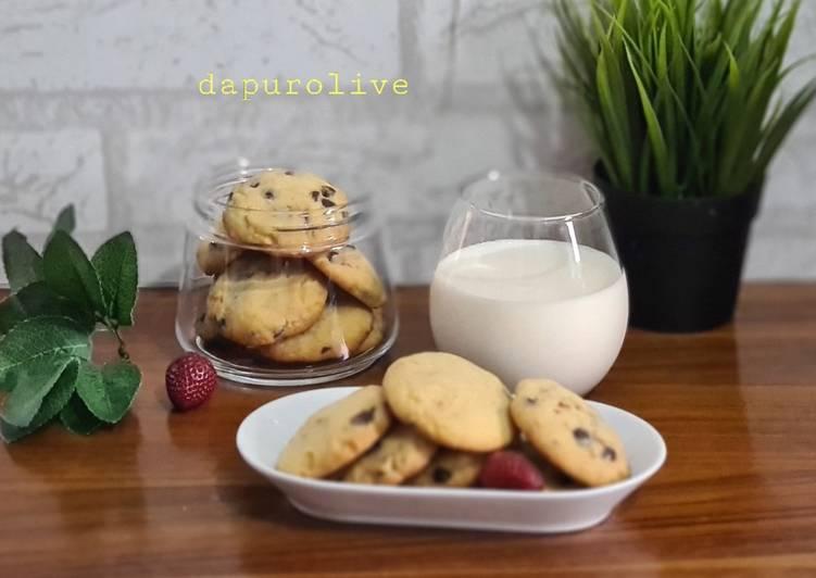 Resep Chewy Jumbo Cookies