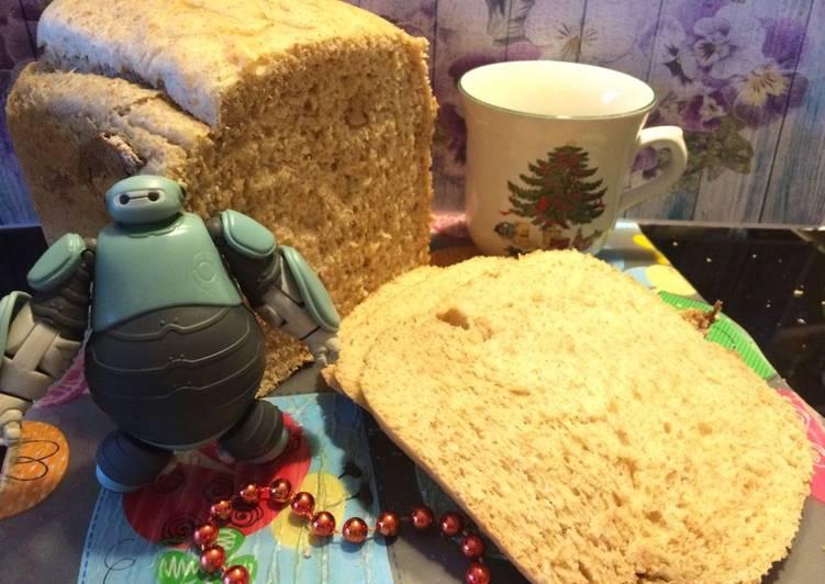 Resep Day Roti gandum rebread maker #BikinRamadanBerkesan
