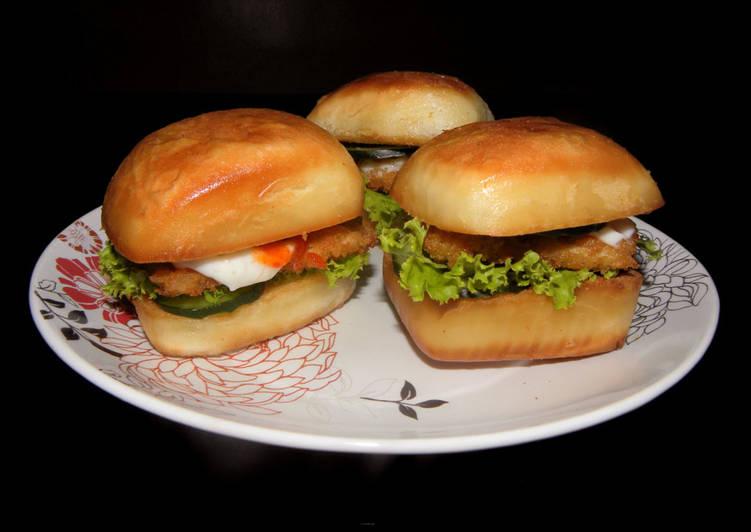 Resep Burger mantou goreng