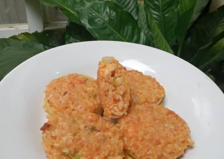 Resep Nasi goreng bombay