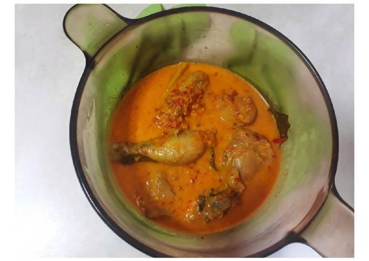 Resep Ayam Kuah Santan