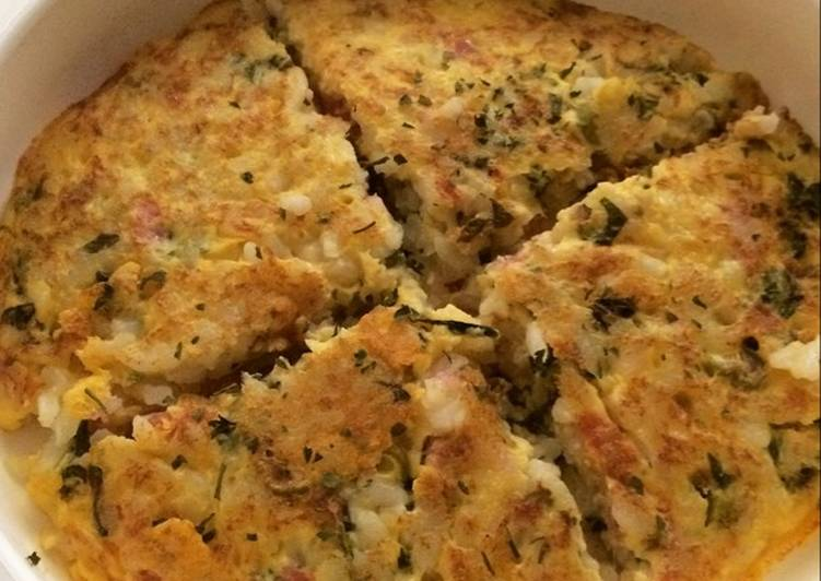 Resep Mpasi 10m+ Pizza Rice