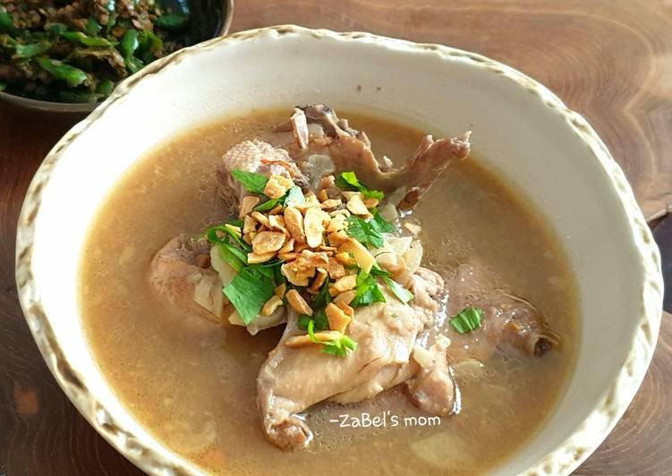 Resep Swike Ayam (Ayam Kuah Tauco)