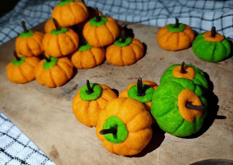 Resep Pumpkin Cookies