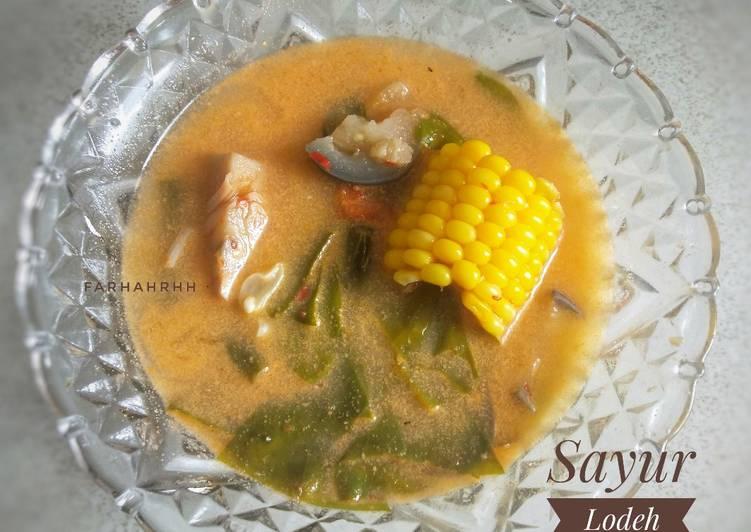 Resep Sayur Lodeh Sunda