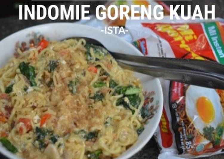 Resep Indomie Goreng Kuah
