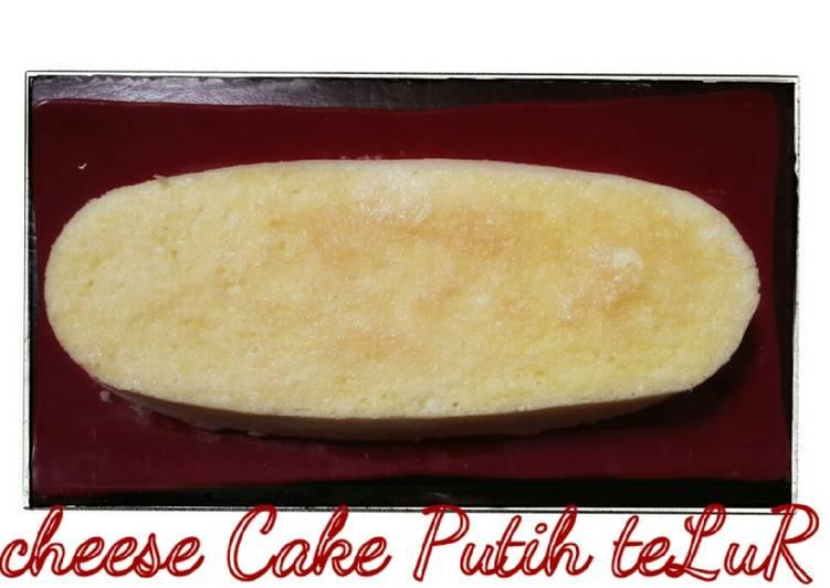 Resep Cheese cake Putih teLuR