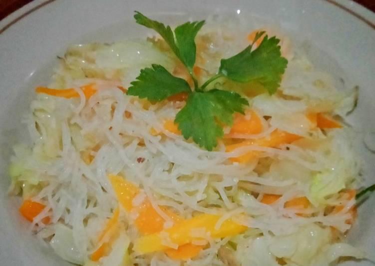 Resep Bihun Jagung Goreng Sayur Sehat