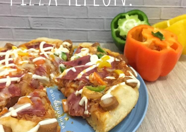 Resep Pizza Teflon!