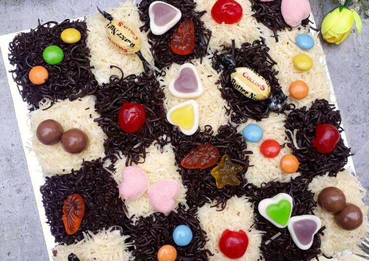 Resep Cake potong coklat