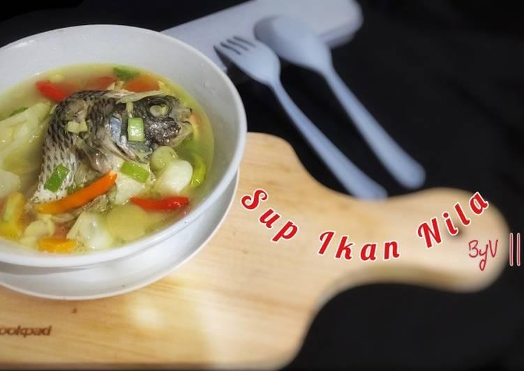 Resep Sup Ikan Nila #Week9