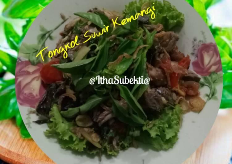 Resep Tongkol Suwir Kemangi