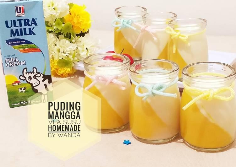 Resep Mango Pudding a.k.a Puding Mangga