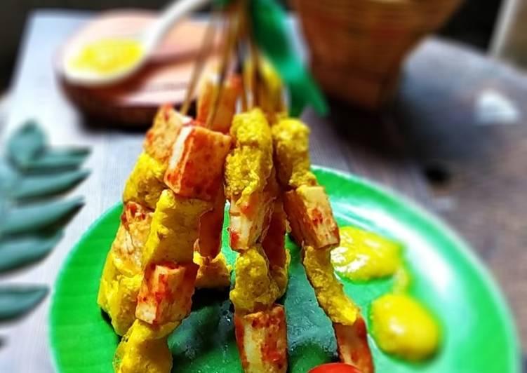 Resep Sate Padang Telur Harum Daun Kari