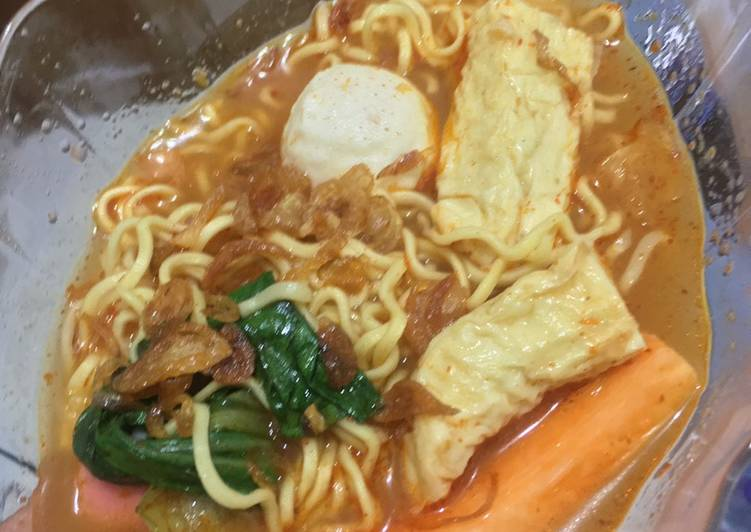 Resep Tomyam seafood