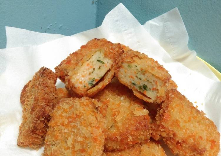 Resep Nugget Ayam Sayur
