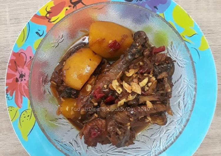 Resep Ayam Kampung Kecap Sunda