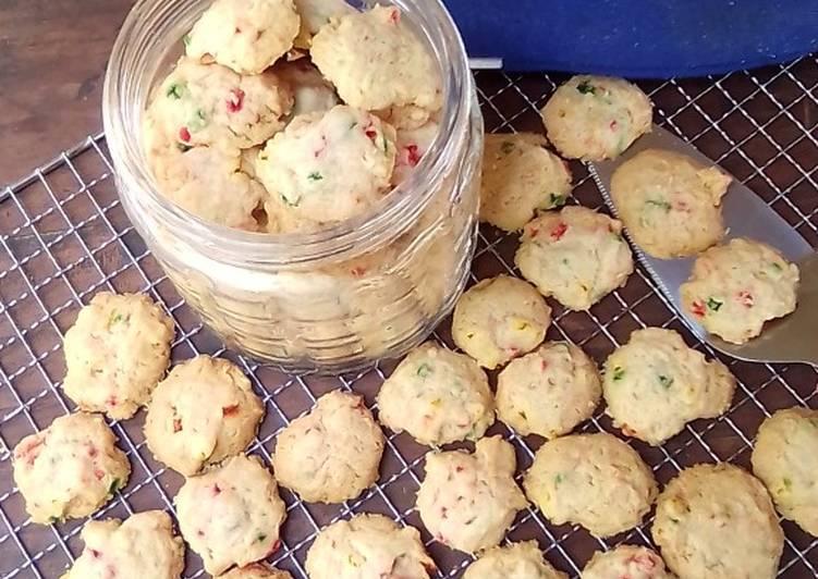 Resep Eggless Sukade Fiber Creme Cookies RENYAH ENAK NO PENGEMBANG