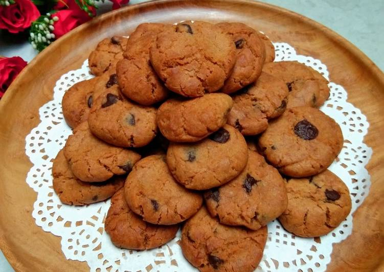 Resep Crunchy Chocohips Cookies