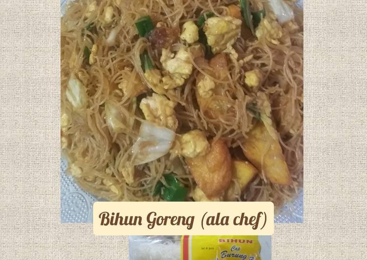 Resep Bihun Goreng (ala chef)