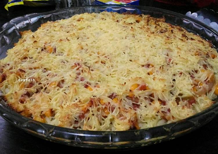 Resep Nasi Panggang Keju