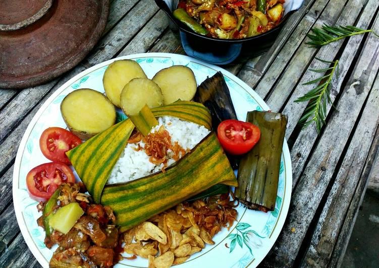 Cara Gampang Membuat Nasi Puyung Lombok Tengah Lezat