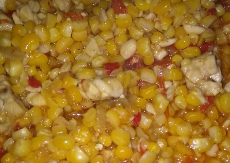 Resep Serundeng jagung