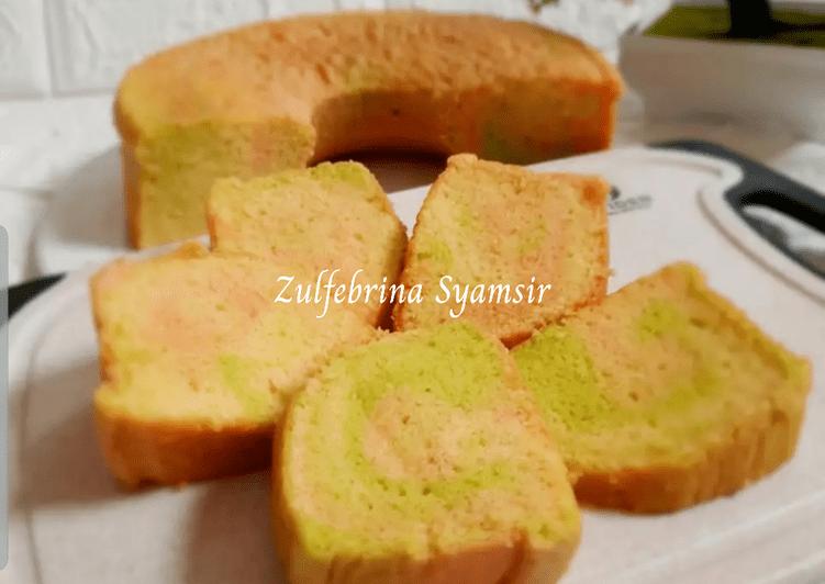 Resep Tuty Truty Taart (Cake Pelangi)
