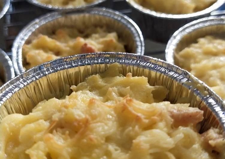 Resep Macaroni schotel oven ekonomis