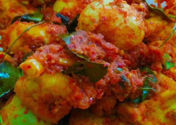 Resep Bali Tahu Telur