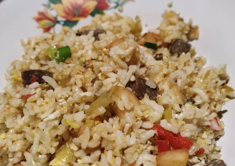 Cara Membuat Nasi Goreng Kampung Enak