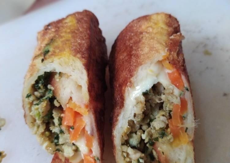 Resep Sandwich Gulung