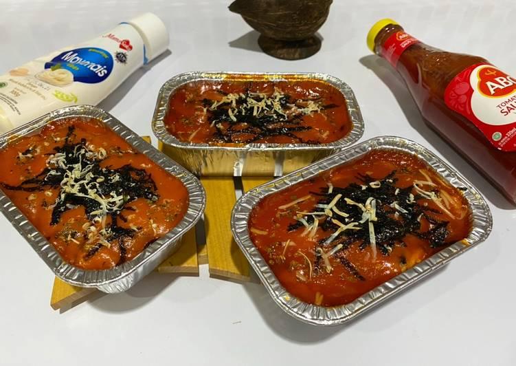 Resep Salmon Mentai Rice