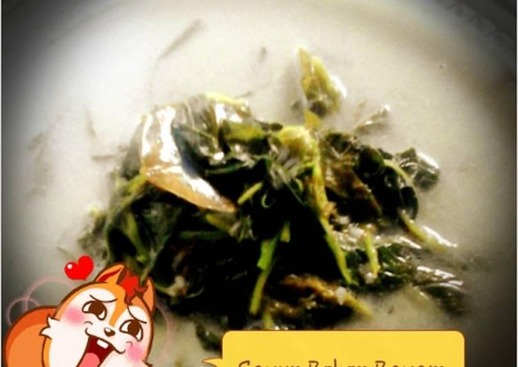 Resep Sayur Bobor Bayam