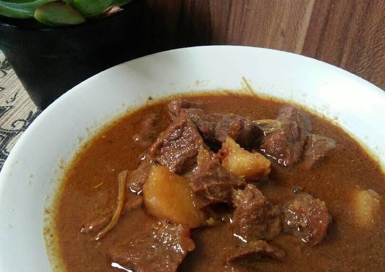 Resep Semur daging dan kentang