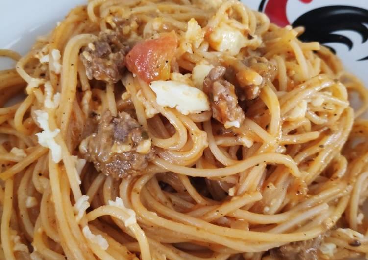 Resep Spaghetti Bolognese simple masaknya dan enak