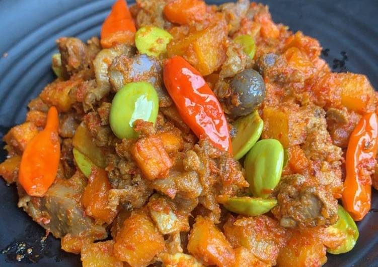 Resep Sambel goreng kentang wortel ati ampela