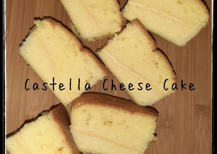 Resep Castella Cheese Cake
