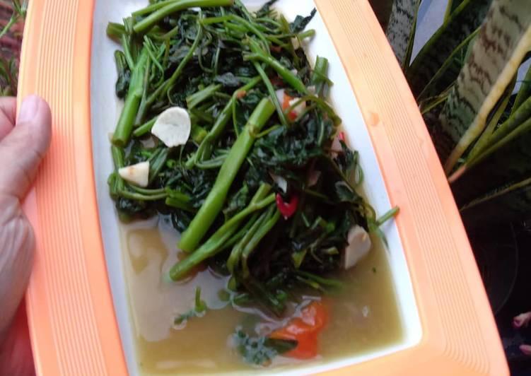 Resep Kangkung oseng gurih