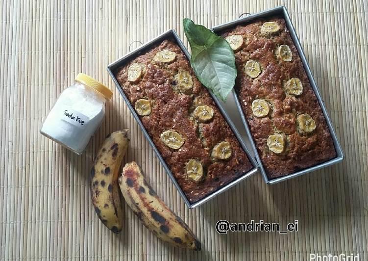 Resep Banana Bread (Tanpa Mixer)
